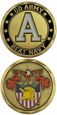 Go Army, Beat Navy Challenge Coin