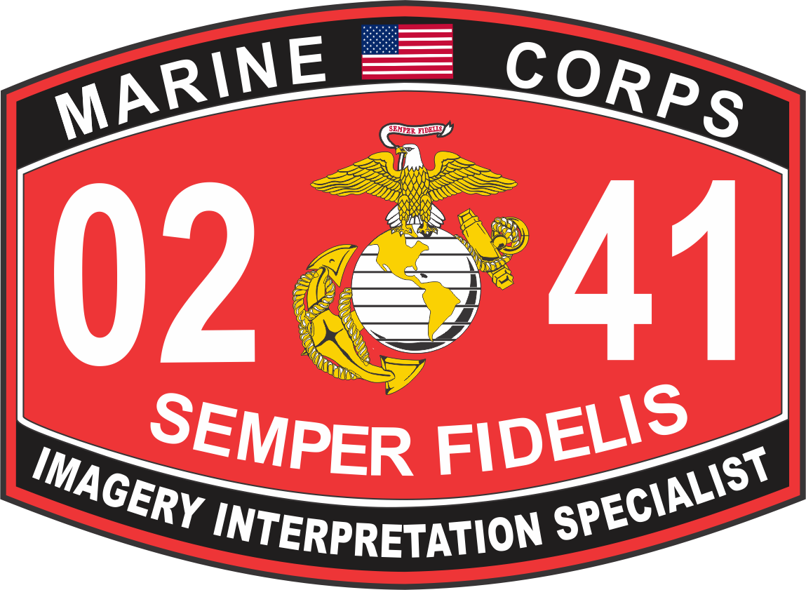 Interpretation Specialist Marine Corps MOS 0241 USMC Military Decal