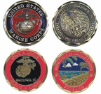 Marine Corps Pride Challenge Coins