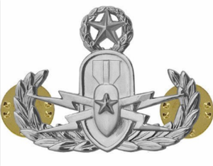 Master Explosive Ordnance Disposal Badge
