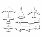 Military Aircraft Planes Helicopters Stickers Decals