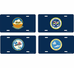 Navy Air Craft Carrier License Plates