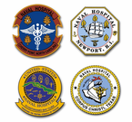 Navy Hospital Vinyl Transfer Decals