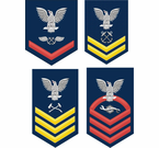 Navy Rank Insignia Decals