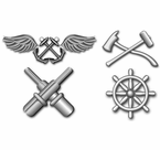 Navy Rating Badge Vinyl Transfer Decals