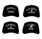 Navy Retired Ball Caps