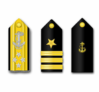 Navy Shoulder Board Vinyl Transfer Decals