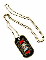 OPERATION ENDURING FREEDOM VETERAN DOG TAG
