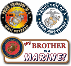 Proud Marine Corps Family Decals