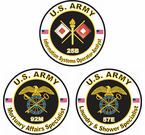 Psychological Operations, Quartermaster Corps, & Signal Corps