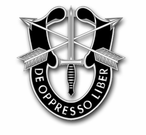 Special Forces Brigade Unit Crest Vinyl Transfer Decal