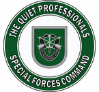 Special Forces Command Quiet Professionals Decal