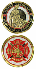 St Florian Challenge Coin