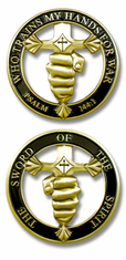 Sword of the Spirit Challenge Coin