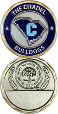 The Citadel-bulldogs Engravable Challenge Coin