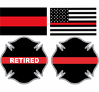 Thin Red Line Decals