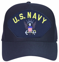 U.S. Navy with Eagle and Anchor Cap
