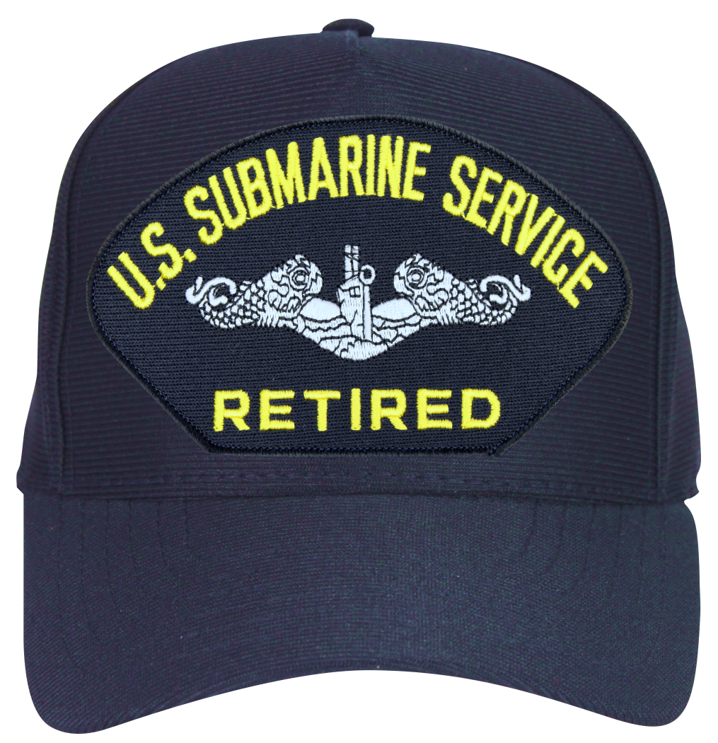 U S Submarine Service Retired Enlisted Ball Cap