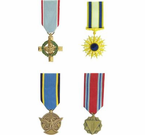 US Air Force Medals <br>(Mini)