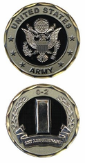 US Army 1st Lieutenant O-2 Challenge Coin