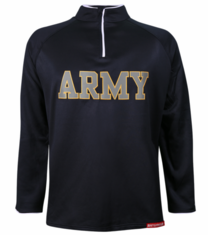 US Army Blue Embroidered Performance Jacket