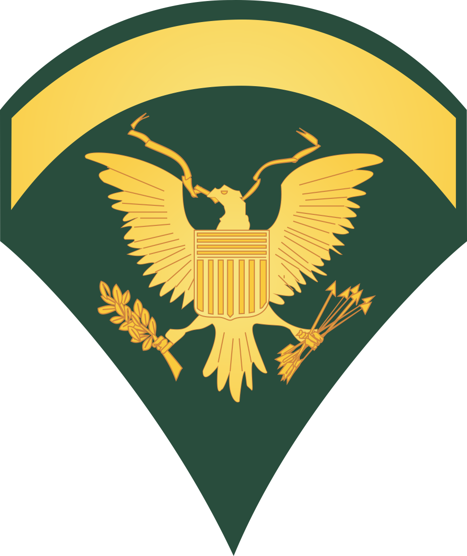 Army E-5 Specialist Decal