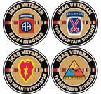 US Army Iraq Veteran Decals Stickers