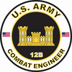 US Army MOS 12B Combat Engineer