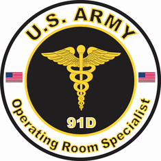 US Army MOS 91D Operating Room Specialist