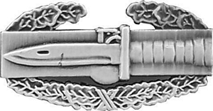 """US Army  Combat Action Badge 1"""" Lapel Hat Pin"""