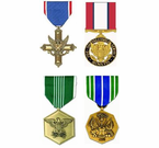 US Army Service Medals (Full Size)