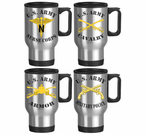 US Army Stainless Steel Branch Travel Mugs