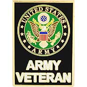 US Army Veteran Lapel Pin