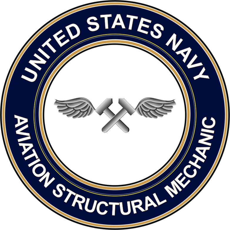 Navy Aviation Structural Mechanic AM decal