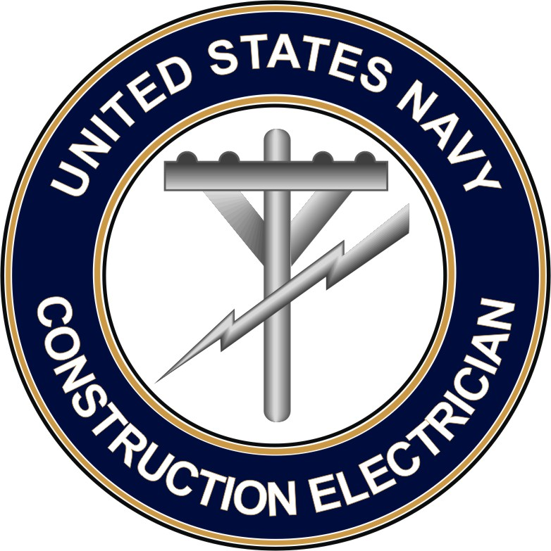 Navy Construction Electrician CE decal