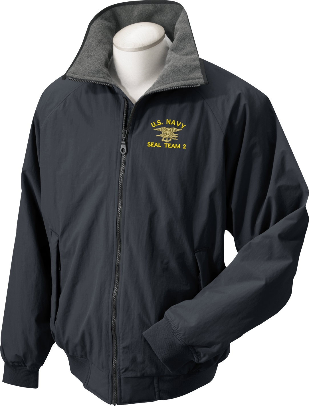 Navy Custom Embroidered Ship &amp Insignia Jackets
