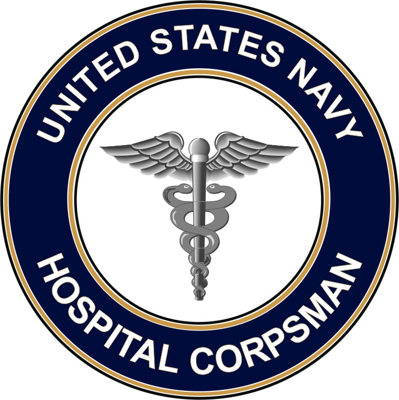 Navy Hospital Corpsman HM decal