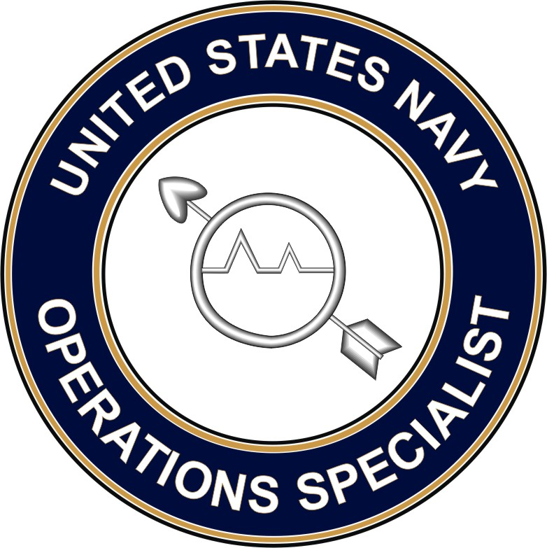Navy Operations Specialist OS decal