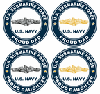 US Navy Submariner Proud Family Decals