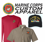USMC Custom Caps & Apparel