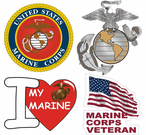 USMC Marine Corps Stickers Decals