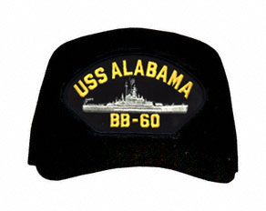 USS Alabama BB-60 Ship Cap