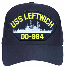 USS Leftwich DD-984 Ship Cap
