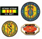 Vietnam Veteran Patches