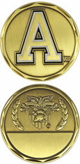 West Point Challenge Coin with Engravable Blank