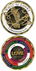 WHAT IS LOVE CHALLENGE COIN