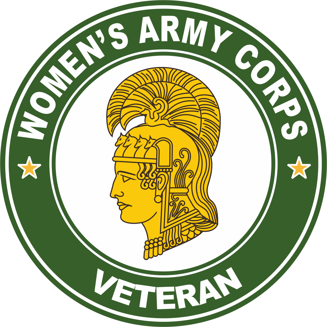 Women's Army Corps Veteran Decal