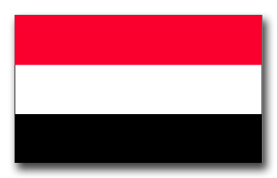 Yemen Flag Vinyl Transfer Decal