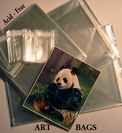 ART  PRINT - PHOTO BAGS - DOCUMENT STORAGE DISPLAY BAG - Resealable Plastic Sleeves - Acid-Free