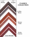 CLASSICS Collection  �  ECO-WOOD Picture Frames  � Standard & Non-Standard Picture Frame Sizes